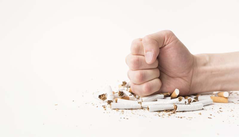 arrêt du tabac et des cigarettes