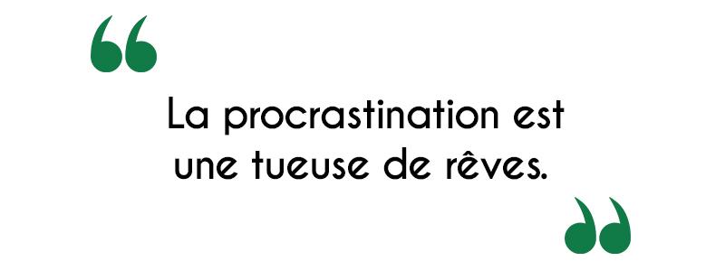 Comment arrêter de procrastiner